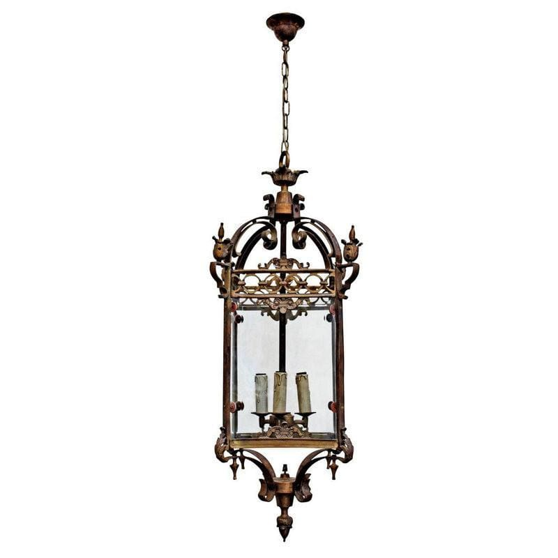 Chandelier Bronze French Riems Large