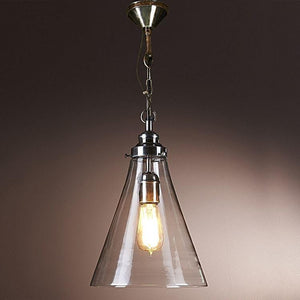 Pendant Light Gadsden Glass Hanging Lamp Small