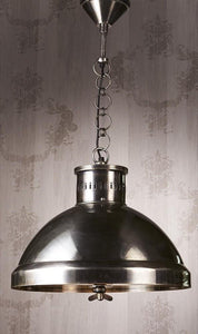 Pendant Light Madison Hanging Lamp In Silver Finish