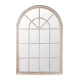 Mirror Hamptons Wood Arched 100 x 150