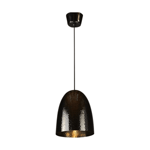 Pendant Light Dolce Beaten Charcoal Hanging Lamp