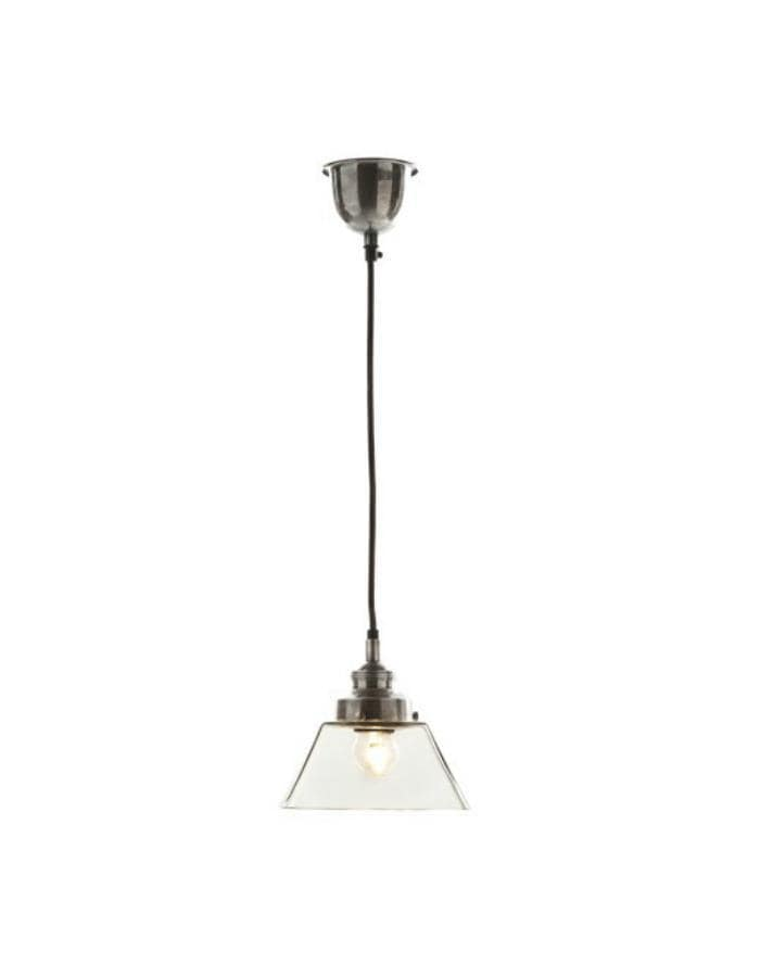 Pendant Light Kent Antique Silver