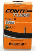 Continental Tube 20x1.75x2 - 34mm Schrader