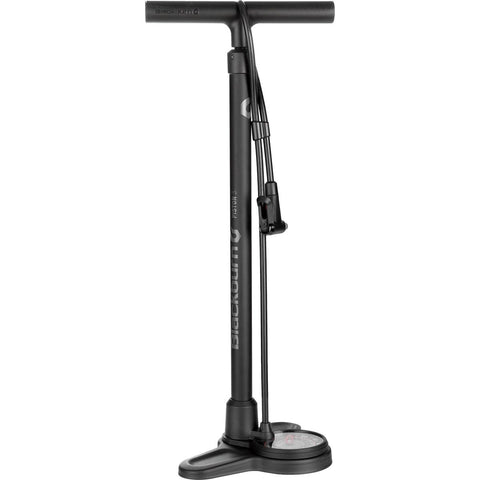 Blackburn Piston 3 Floor Pump, Black & Gray