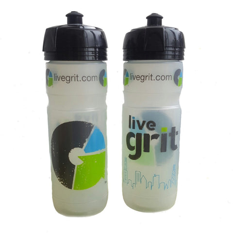 Live Grit Custom Water Bottle by Elite