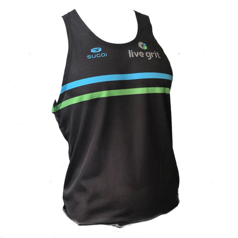 Live Grit Turbo Singlet by Sugoi for Men