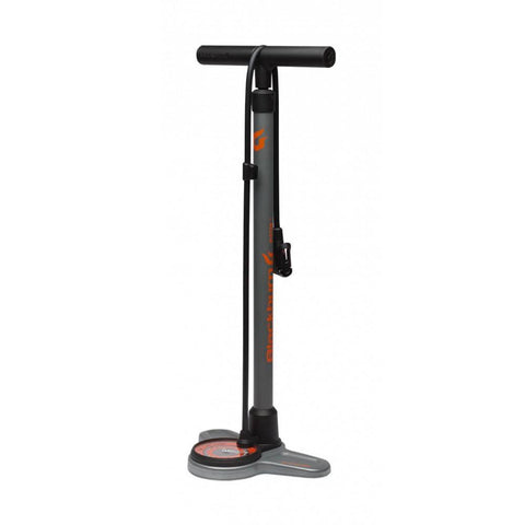 Blackburn Piston 3 Floor Pump, Gray & Orange