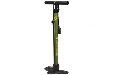 Blackburn Piston 1 Floor Pump, Olive & Yellow