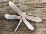 Dragonfly DF017, Silverplate & Spoon hand made jewelry silver