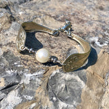 Bracelet 025, Silverplate & Spoon hand made jewelry silver