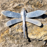 Dragonfly, Silver Fashion 1957, Silverplate & Spoon hand made jewelry silver