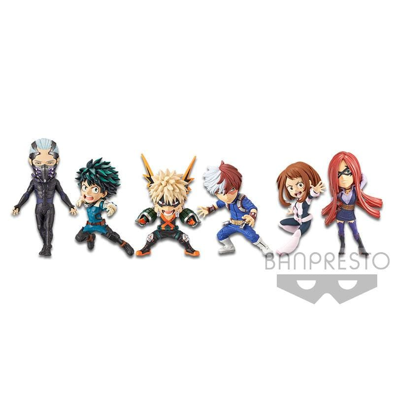 MHA Heroes Rising WCF World Collectable Minifigures by Banpresto