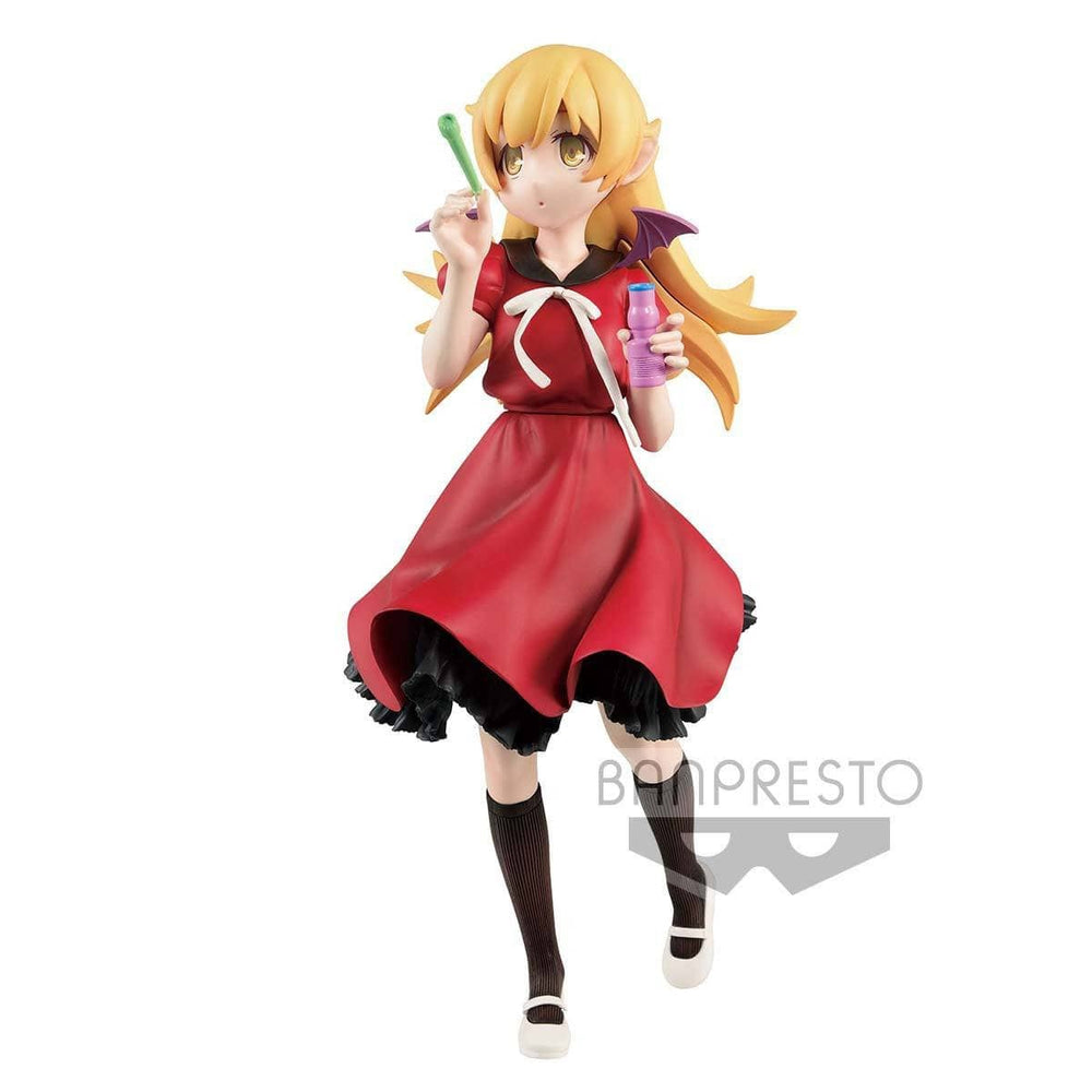 Shinobu Oshino Ishin Nishio Anime Project Monogatari Series EXQ Figure by Banpresto