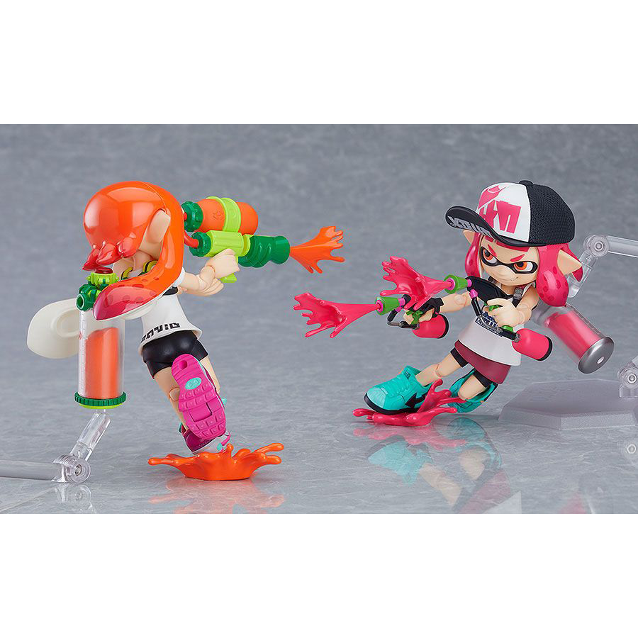 Splatoon Girl figma DX 2-pack by Good Smile Company