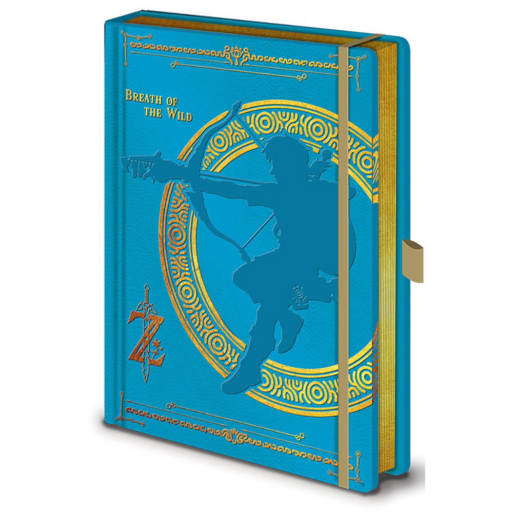 Breath of the Wild Deluxe Notebook by Pyramid International
