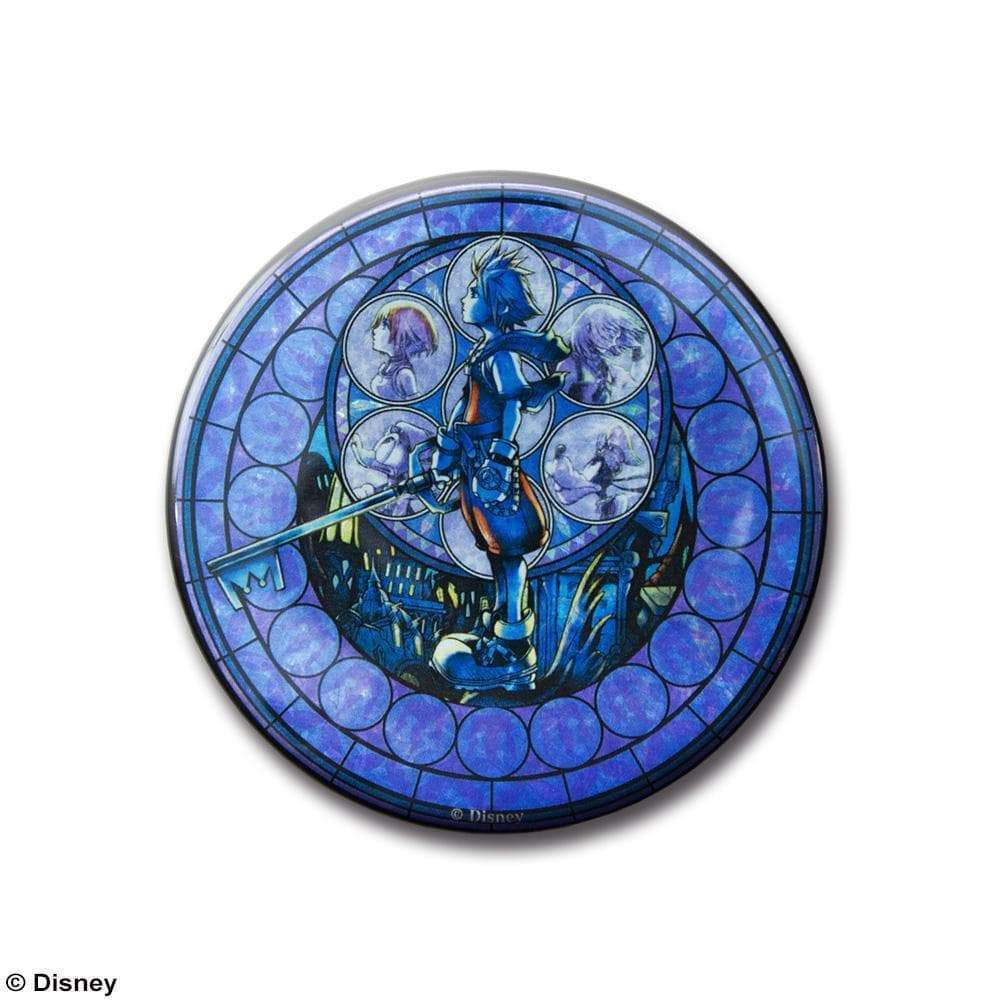 Kingdom Hearts Stained Glass Badges by Square Enix