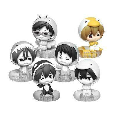 Free! Marine Morning 7cm figures by Taito