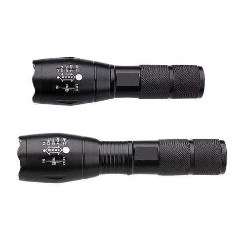 Brightest CREE XM-L T6 LED Flashlight Torch 2000 Lumen Zoomable Handheld For Camping indoor outdoor