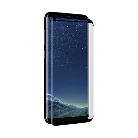 Cases, Covers, Skins - 3SIXT Case Friendly Curved Glass Screen Protector for Samsung Galaxy S8