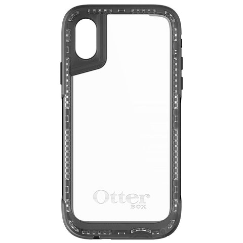 OTTERBOX PURSUIT CASE SUITS IPHONE X - BLACK/CLEAR