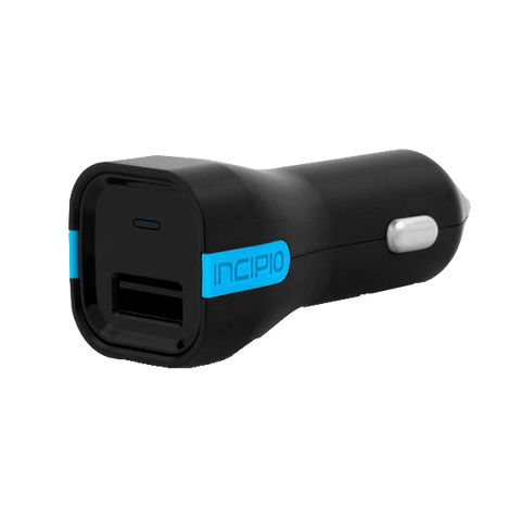 USB Car Charger - Incipio 2.4A Auto USB Car Charger For iPhone 7 6S Plus Samsung Galaxy