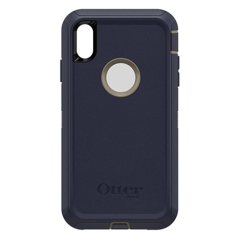 "OTTERBOX DEFENDER CASE SUITS IPHONE XS MAX (6.5"") - DARK LAKE"
