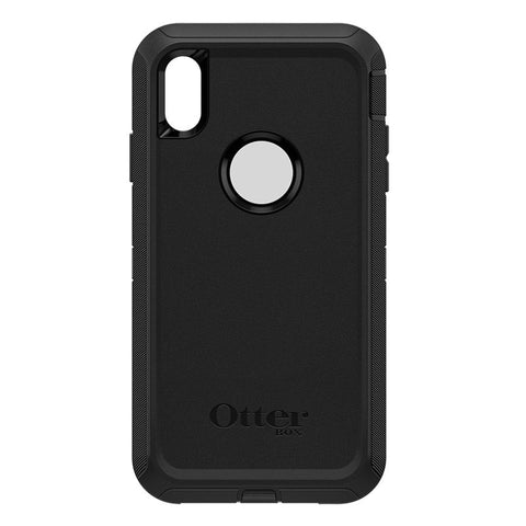 "OTTERBOX DEFENDER CASE SUITS IPHONE XS MAX (6.5"") - BLACK"