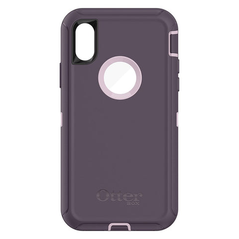OTTERBOX DEFENDER CASE SUITS IPHONE X - PURPLE NEBULA