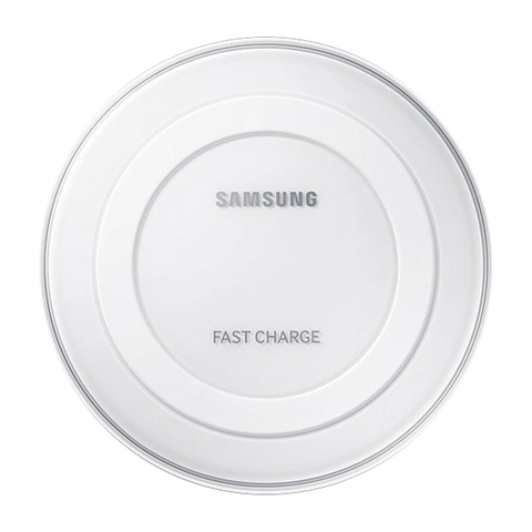 Wireless Chargers - SAMSUNG Wireless Charging Pad With Adaptive Fast Charge - WHITE