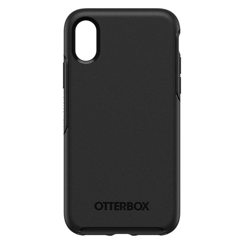 "OTTERBOX SYMMETRY CASE SUITS IPHONE X/XS (5.8"") - BLACK"