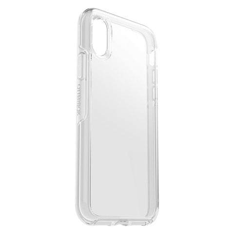 "OTTERBOX SYMMETRY CLEAR CASE SUITS IPHONE X/XS (5.8"") - CLEAR"