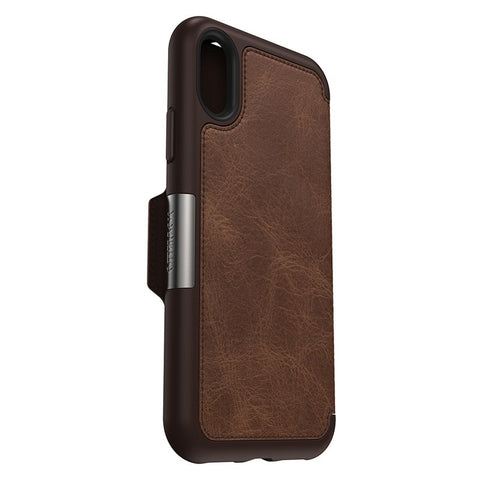 "OTTERBOX STRADA CASE SUITS IPHONE X/XS (5.8"") - ESPRESSO"