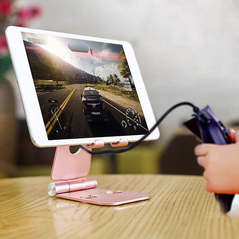 For Apple iPhone iPad Luxury Universal Alloy Phone Holder Tablet Stand Samsung