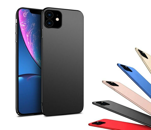 Thin Skin Matte Back HARD Case Cover For Apple iPhone 11 Pro Max XR XS Max X 8 Plus 7 6S 5s