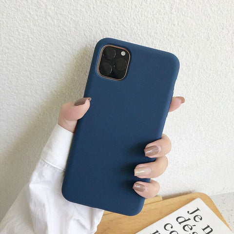 Shockproof Case Soft Slim Silicone Rubber Gel Cover For Apple iPhone 11 Pro Max XS XR X Thin