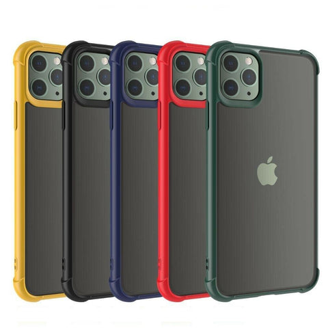 For iPhone 11 Pro Max SE XS XR 8 7 6 Bumper Shockproof Case Clear Cover Heavy