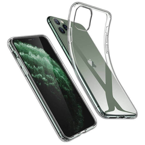 For Apple iPhone Xs Max XR 11 Case X 8 7 Plus 6 SE Slim Crystal Clear Soft COVER