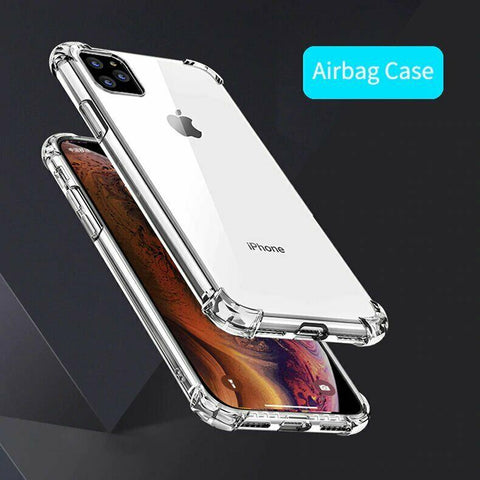 For iPhone 12 11 Pro XS Max 8 7 Plus Case Ultra Hybrid Acrylic CLEAR Tough Cover