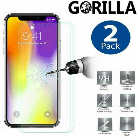 2X iPhone 12 Pro Max 12 Mini Genuine Tempered Glass Screen Protector For Apple