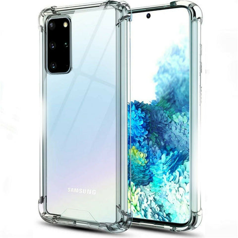 Samsung Galaxy S20 Ultra S21 Plus Shockproof Acrylic Hard Back Case Clear Cover