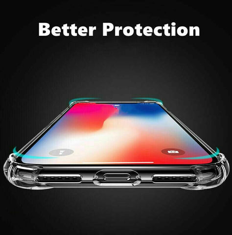 Ultra Clear Shockproof Bumper Case Cover for iPhone 12 mini 11 Pro MAX XS XR 8 7
