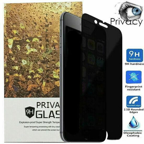 2X Anti-spy Privacy Tempered Glass Screen Protector For iPhone 12 Pro Max Mini