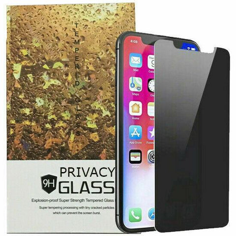 3X For Apple iPhone 12 Pro Max Mini Anti-Spy Privacy Full Glass Screen Protector
