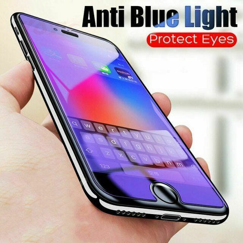 2X Pack Glass Screen Protector For iPhone 12 Pro Max Mini Anti BLUE Light Filter