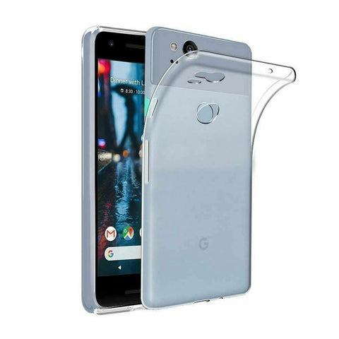 Liquid Crystal Clear Tough Soft Cover Case For Google Pixel 4 3a XL Pixel 3 2