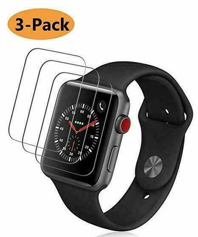 3x For Apple Watch SE 6 5 4 3 2 1 44&40&42&38mm iWatch GLASS Screen Protector