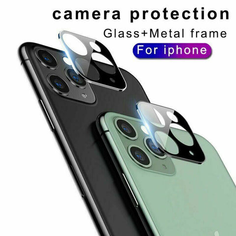 2x For Apple iPhone 11 Pro Max Camera Lens Slim Tempered Glass Screen Protector