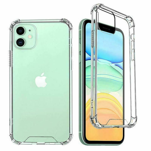 Hybrid Acrylic CLEAR Hard Cover Case For Apple iPhone 12 Pro Max 11 XR XS 8 7 Plus 6s