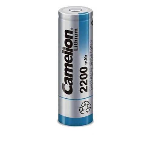 CA18650 Camelion Rechargeable Lithium Battery 3.7V 2200mAh 18650