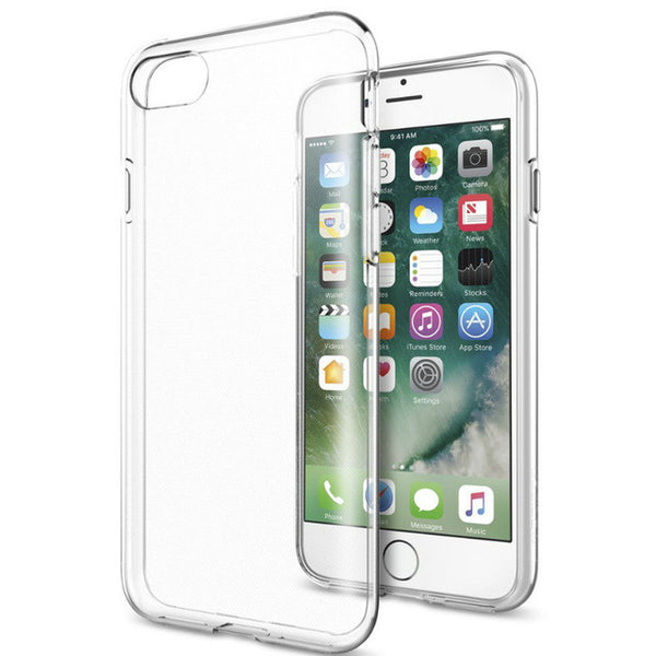 Cases, Covers, Skins - RKSYNC iPhone 7 Case Crystal Clear Soft Transparent TPU Gel Cover Skin